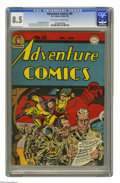 Golden Age (1938-1955):Superhero, Adventure Comics #95 (DC, 1944) CGC VF+ 8.5 Off-white to white pages. A Simon and Kirby cover no doubt ensured that this iss...