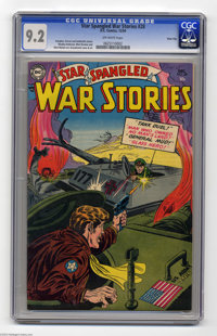Star Spangled War Stories #28 River City pedigree (DC, 1954) CGC NM- 9.2 Off-white pages. Somebody's selling a high-grad...