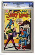 Silver Age (1956-1969):Humor, Adventures of Jerry Lewis #105 Curator pedigree (DC, 1968) CGC NM+ 9.6 White pages. Jerry Lewis teams up with Superman! Hmm,...