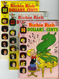 Silver Age (1956-1969):Humor, Richie Rich Dollars and Cents Group (Harvey, 1965-69) Condition: Average VF+.... (Total: 5 Comic Books)