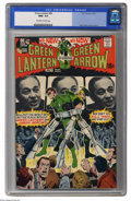 """Bronze Age (1970-1979):Superhero, Green Lantern #84 (DC, 1971) CGC NM+ 9.6 Off-white to white pages. Neal Adams was famed for trying to """"push the envelope"""" in..."""