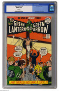 Bronze Age (1970-1979):Superhero, Green Lantern #89 (DC, 1972) CGC NM/MT 9.8 White pages. You'relooking at the only 9.8 copy certified to date of this issue,...