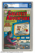Silver Age (1956-1969):Science Fiction, My Greatest Adventure #74 Pacific Coast pedigree (DC, 1962) CGC NM9.4 White pages. The face of the madman on this cover has...