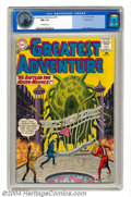 Silver Age (1956-1969):Science Fiction, My Greatest Adventure #76 Pacific Coast pedigree (DC, 1963) CGC NM9.4 Off-white pages. The Micro-Menace is tearing down the...