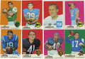 Football Cards:Sets, 1969 Topps Football Complete Set (263).Offered is a 1969 Topps Football complete set. This bright and colorful set includes ...