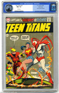 Silver Age (1956-1969):Superhero, Teen Titans #21 Pacific Coast pedigree (DC, 1969) CGC NM+ 9.6 White pages. Neal Adams art. Nick Cardy cover. The Hawk and th...