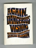 Memorabilia:Miscellaneous, Again, Dangerous Visions by Harlan Ellison Signed First Edition (1972). Up for auction here is a signed first edition of Har...