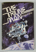 Memorabilia:Miscellaneous, The Tribune Man by Richard A. Lupoff Signed First Edition (1976). This lot features a signed first edition hardback copy of ...