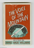 Memorabilia:Miscellaneous, The Voice of the Mountain by Manly Wade Wellman Signed First Edition (1984). This lot features a signed first edition copy o...