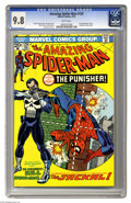 Bronze Age (1970-1979):Superhero, The Amazing Spider-Man #129 (Marvel, 1974) CGC NM/MT 9.8 Whitepages. The Punisher made his first appearance in this issue, ...