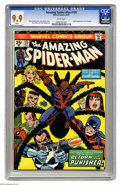 Bronze Age (1970-1979):Superhero, The Amazing Spider-Man #135 (Marvel, 1974) CGC MT 9.9 White pages. This is the second full appearance of the Punisher, who a...