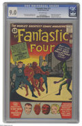 Silver Age (1956-1969):Superhero, Fantastic Four #11 (Marvel, 1963) CGC VF/NM 9.0 Off-white pages.That irksome green fellow from the planet Poppup, the Impos...