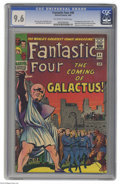 Silver Age (1956-1969):Superhero, Fantastic Four #48 (Marvel, 1966) CGC NM+ 9.6 Off-white to white pages. The Watcher has seen it all... literally. So when ev...