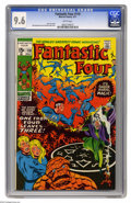 Bronze Age (1970-1979):Superhero, Fantastic Four #110 (Marvel, 1971) CGC NM+ 9.6 White pages. The Thing leaves the Fantastic Four. The FF battle Annihilus. Ca...