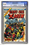 Bronze Age (1970-1979):Superhero, Giant-Size X-Men #1 (Marvel, 1975) CGC NM+ 9.6 Off-white to whitepages. This issue has the first appearance of the new X-Me...