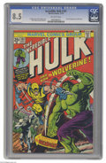 Bronze Age (1970-1979):Superhero, The Incredible Hulk #181 (Marvel, 1974) CGC VF+ 8.5 Off-whitepages. Few Marvel books from the 1970's have had as much impac...
