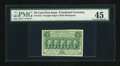 Fractional Currency:First Issue, Fr. 1312 50c First Issue PMG Choice Extremely Fine 45....