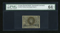 Fractional Currency:Second Issue, Fr. 1232 5c Second Issue PMG Choice Uncirculated 64 EPQ....