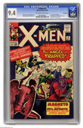 Silver Age (1956-1969):Superhero, X-Men #5 Northland pedigree (Marvel, 1964) CGC NM 9.4 Off-white towhite pages. Early looks at some key Marvel characters ar...