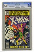 Modern Age (1980-Present):Superhero, X-Men #137 (Marvel, 1980) CGC NM+ 9.6 Off-white to white pages.Death of Phoenix (Jean Grey). Gladiator, The Watcher, and th...