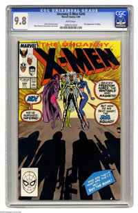 Uncanny X-Men #244 (Marvel, 1989) CGC NM/MT 9.8 White pages. First appearance of Jubilee. Marc Silvestri and Dan Green c...