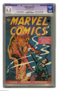 Marvel Comics #1 (Timely, 1939) CGC Apparent FN+ 6.5 Extensive (P) Cream to off-white pages. The first Timely comic cont...