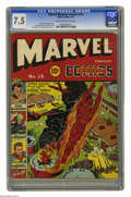 Golden Age (1938-1955):Superhero, Marvel Mystery Comics #16 (Timely, 1941) CGC VF- 7.5 Cream to off-white pages. You couldn't ask for a better array of charac...