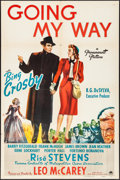 "Movie Posters:Academy Award Winners, Going My Way (Paramount, 1944). Folded, Very Fine-. One Sheet (27"" X 41""). Academy Award Winners.. ..."