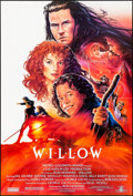 "Movie Posters:Fantasy, Willow (MGM, 1988) Folded, Very Fine+. One Sheet & International One Sheet (27"" X 40""). John Alvin Artwork. Fantasy.... (Total: 2 Items)"