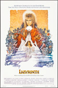 "Movie Posters:Fantasy, Labyrinth (Tri-Star, 1986) Rolled, Very Fine-. One Sheet (27"" X41"") Ted CoConis Artwork. Fantasy...."