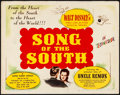 "Movie Posters:Animation, Song of the South (RKO, 1946) Fine/Very Fine. Title Lobby Card (11"" X 14""). Animation...."