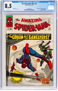 Silver Age (1956-1969):Superhero, The Amazing Spider-Man #23 (Marvel, 1965) CGC VF+ 8.5 White pages....