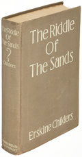 Books:Mystery & Detective Fiction, Erskine Childers. The Riddle of the Sands. New York: 1915. First U. S. edition....