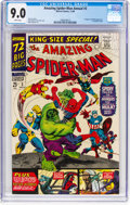 Silver Age (1956-1969):Superhero, The Amazing Spider-Man Annual #3 (Marvel, 1966) CGC VF/NM 9.0 White pages....