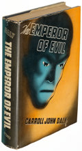 Books:Mystery & Detective Fiction, Carroll John Daly. The Emperor of Evil. New York: 1937.First edition...