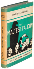 Books:Mystery & Detective Fiction, Dashiell Hammett. The Maltese Falcon. New York: 1934. FirstModern Library edition, two copies in variant bindings.... (Total:2 Items)