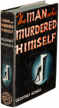 Books:Mystery & Detective Fiction, Geoffrey Homes. The Man Who Murdered Himself. New York: 1936. First edition....