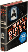 Books:Mystery & Detective Fiction, Geoffrey Homes. The Man Who Didn't Exist. New York: 1937. First edition....