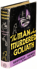 Books:Mystery & Detective Fiction, Geoffrey Homes. The Man Who Murdered Goliath. New York: 1938. First edition....