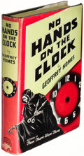 Books:Mystery & Detective Fiction, Geoffrey Homes. No Hands on the Clock. New York: 1939. First edition....