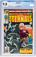 Bronze Age (1970-1979):Superhero, The Eternals #1 (Marvel, 1976) CGC NM/MT 9.8 White pages....