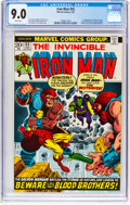 Bronze Age (1970-1979):Superhero, Iron Man #55 (Marvel, 1973) CGC VF/NM 9.0 White pages....