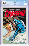 Modern Age (1980-Present):Superhero, Crossfire #12 (Eclipse, 1985) CGC NM/MT 9.8 White pages....