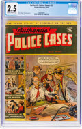 Golden Age (1938-1955):Crime, Authentic Police Cases #22 (St. John, 1952) CGC GD+ 2.5 Cream to off-white pages....