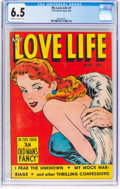 Golden Age (1938-1955):Romance, My Love Life #7 (Fox Features Syndicate, 1949) CGC FN+ 6.5 Cream tooff-white pages....