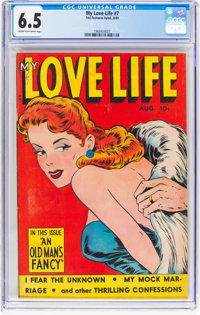 My Love Life #7 (Fox Features Syndicate, 1949) CGC FN+ 6.5 Cream to off-white pages