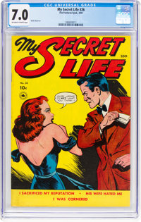 My Secret Life #26 (Fox Features Syndicate, 1950) CGC FN/VF 7.0 Off-white to white pages