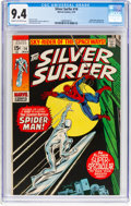Bronze Age (1970-1979):Superhero, The Silver Surfer #14 (Marvel, 1970) CGC NM 9.4 Cream to off-white pages....