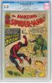 The Amazing Spider-Man #5 (Marvel, 1963) CGC GD/VG 3.0 Cream to off-white pages