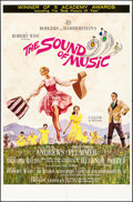"""Movie Posters:Academy Award Winners, The Sound of Music (20th Century Fox, 1965) Folded, Fine/Very Fine. One Sheet (27"""" X 41""""). Academy Awards Style, Howard Terp..."""